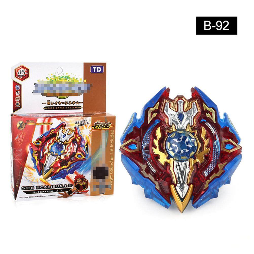 Children Game Toys Burst Metal Fusion Launcher Beyblade Spinning Top With Launcher By Big House.