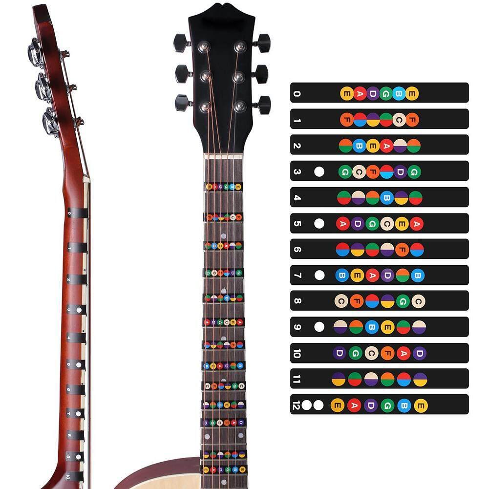 Big Salecolorful Guitar Fretboard Note Decal Beginners Fingerboard Sticker Label Map Frets Scale By Four Season Big Sale.