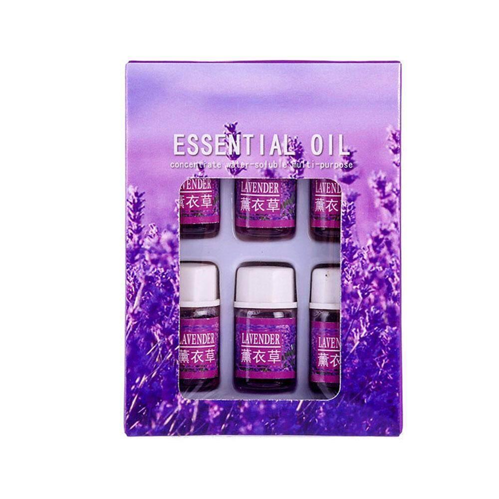 Efuture Minyak Aromaterapi untuk Diffuser, 6 Buah Minyak Atsiri S Set Minyak Esensial Aromaterapi Alami