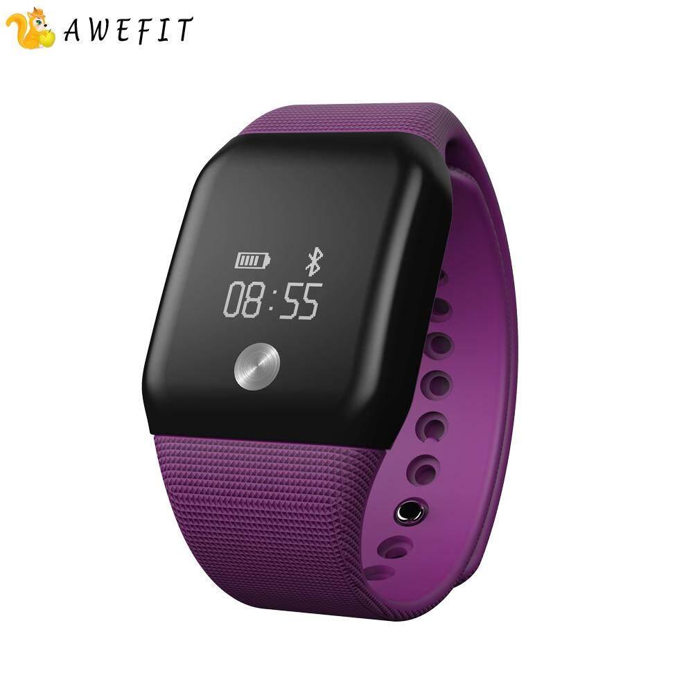 A88 + Gelang Pintar Jam Tangan H E Sebuah R T R Sebuah T E Monitor Bluetooth 4.0 Tahan Air