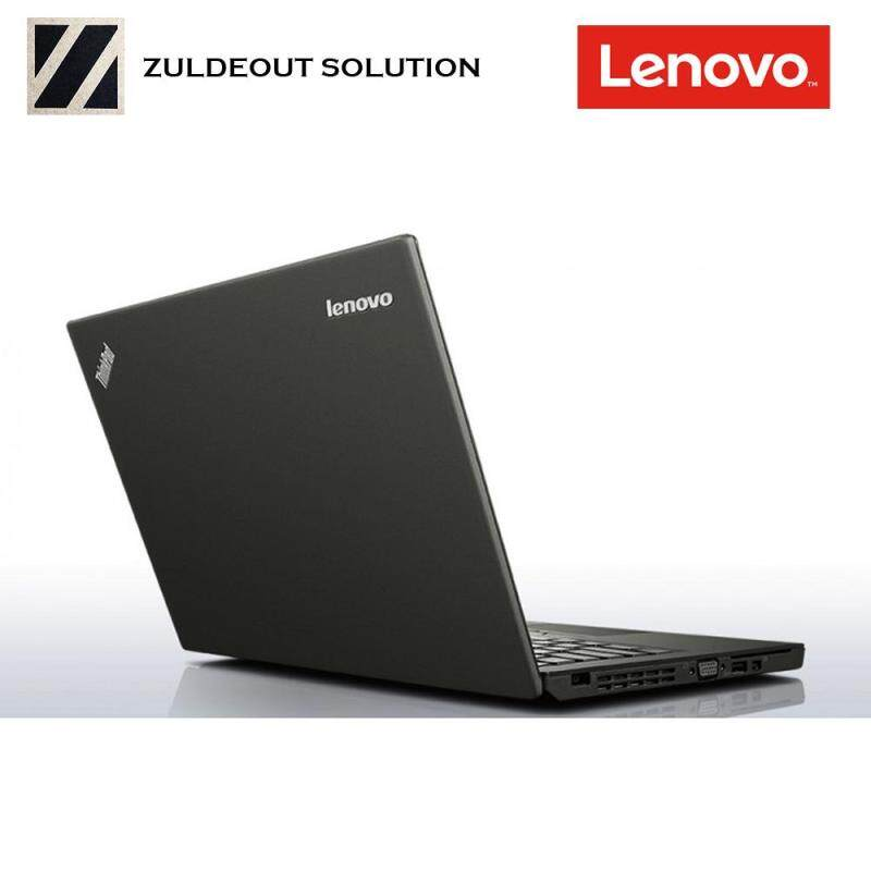 [REFURBISH] Lenovo Thinkpad X260 12.5 Laptop Black ( Intel i5, 8GB RAM, 256GB SSD,  W10) Malaysia