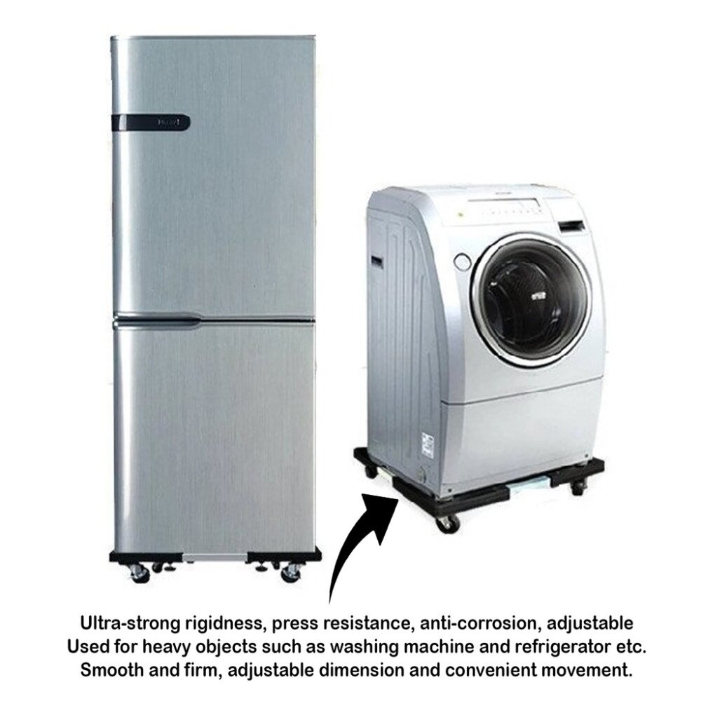 Image result for multifunctional movable base for washing machine