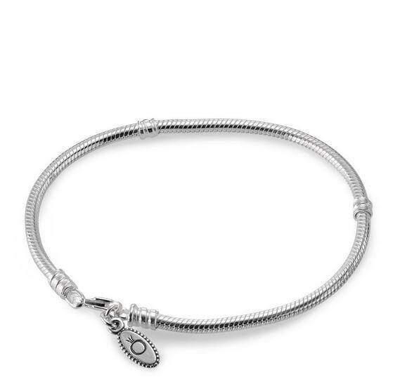 Pandora Bracelet Silver Lobster Clasp With Gift Box 590700hv 18