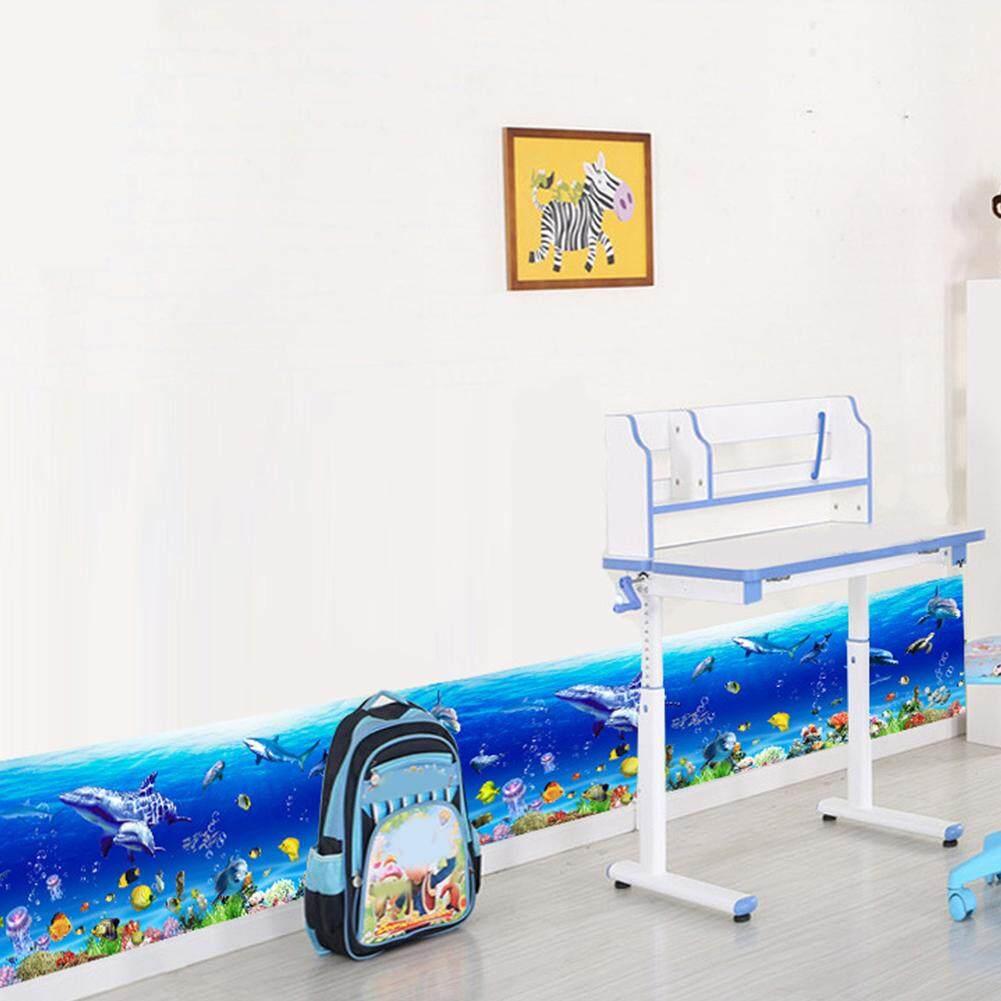 Klasik Stiker Dekoratif Dapat Dilepas Dinding Stiker DIY PVC Dekorasi Rumah