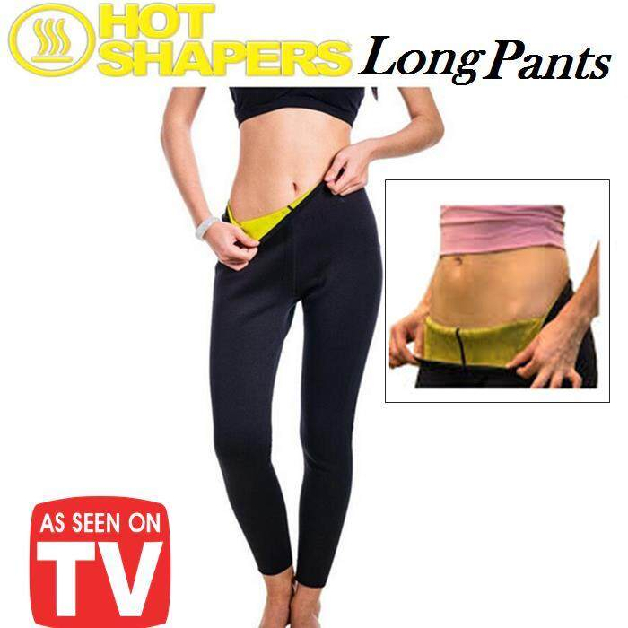 【XL】Hot Shaper Pants Sweat Lose Weight Tights Female Sports Fitness Running Trousers Slim Leggings