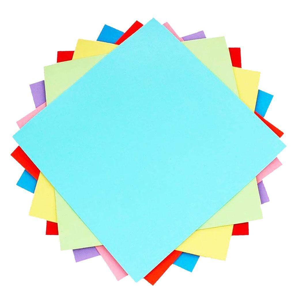 Mua BolehDeals 100 Sheets 10 Colors Set Double Sided Folding Origami Papers for DIY Arts Crafts