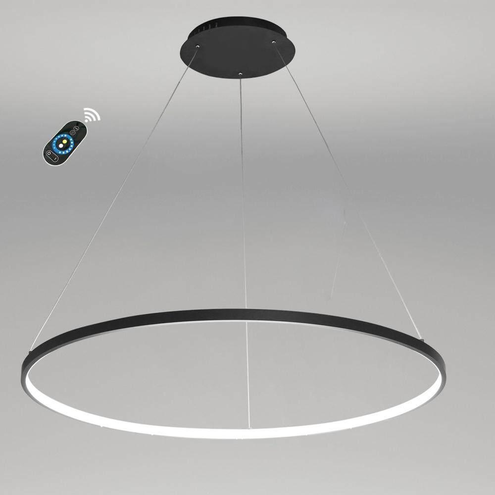 220 - 240V Lazada Modern Led Pendant Light Black Painting for Dinning Living Room