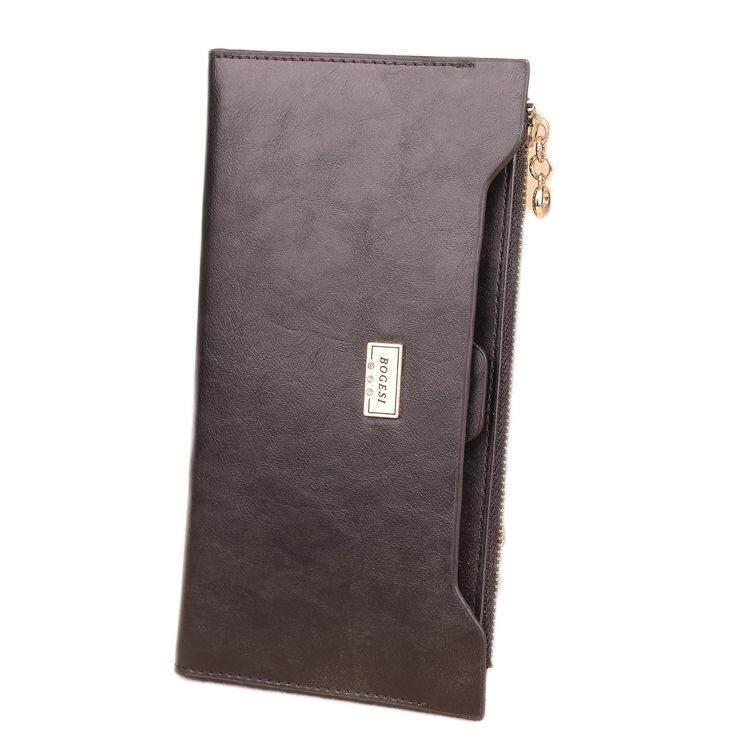 WLT-045 Bogesi 838 Woman Fashion Elegant Lady Wallet Bag Purse (Red)