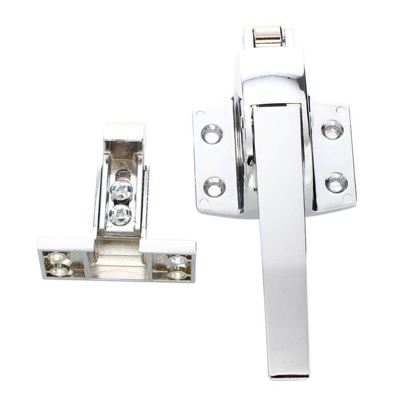 Sodial(r) Stainless Steel Spring Loaded Walk In Freezer Cooler Door Handle Latch By Werinc.