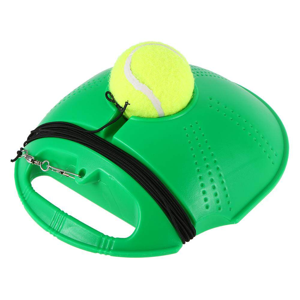 Tennis Trainer Tennis Practice Baseboard Training Tool Tennis Exercise Rebound Ball With String - Intl By Tomtop.