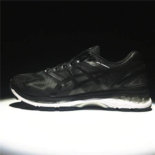 Running Shoes Non-Slip Hard-Wearing Authentic Sneakers New Style CUPSOLE FlyteFoam Men's NYLON Sports Shoes Asics-Gel Nimbus 19 Grey White EU:40 - intl