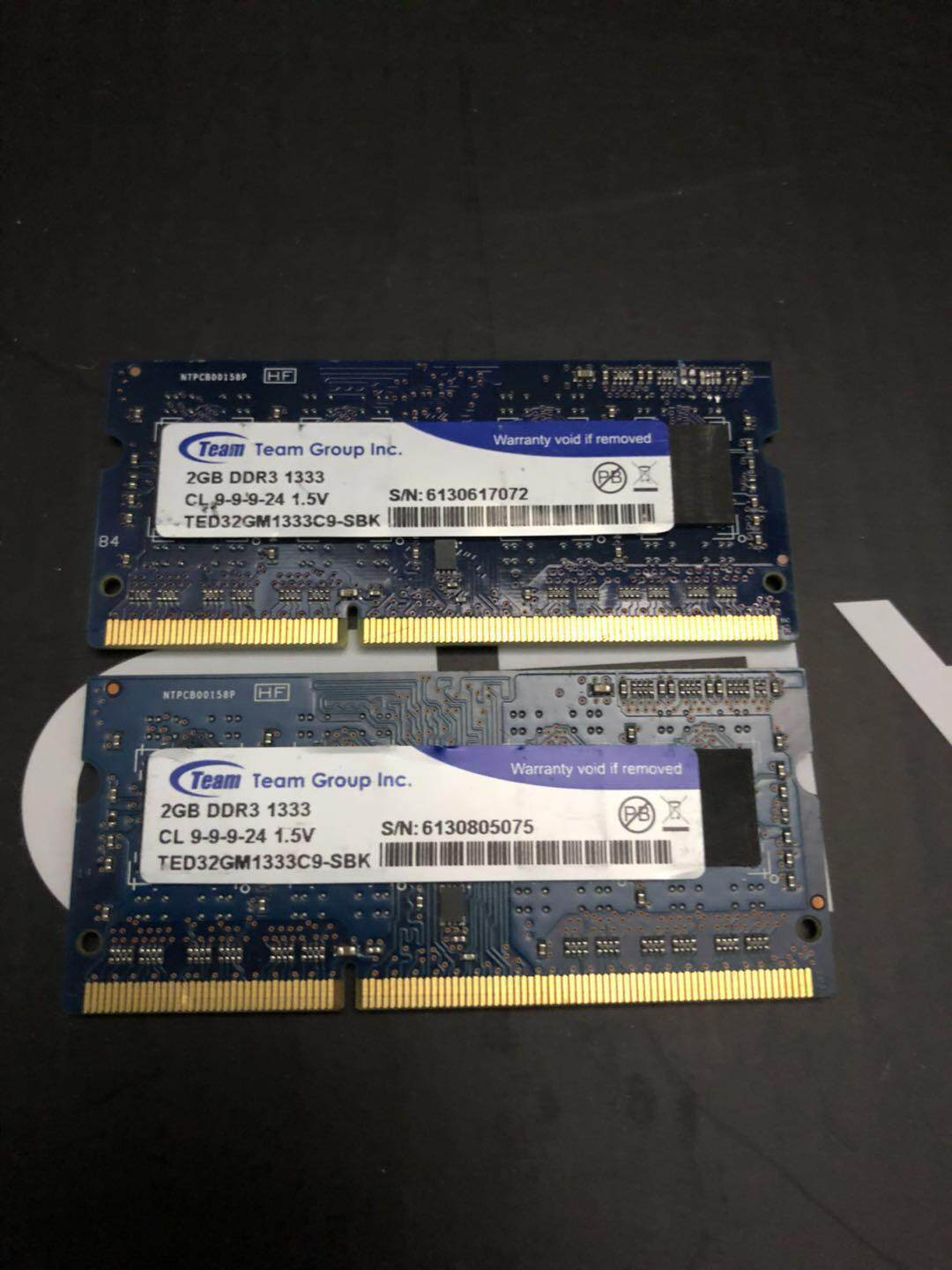 Sell 2gb Ddr3 Cheapest Best Quality My Store Memori Laptop Kingston Pc3 10600 Original Myr 40