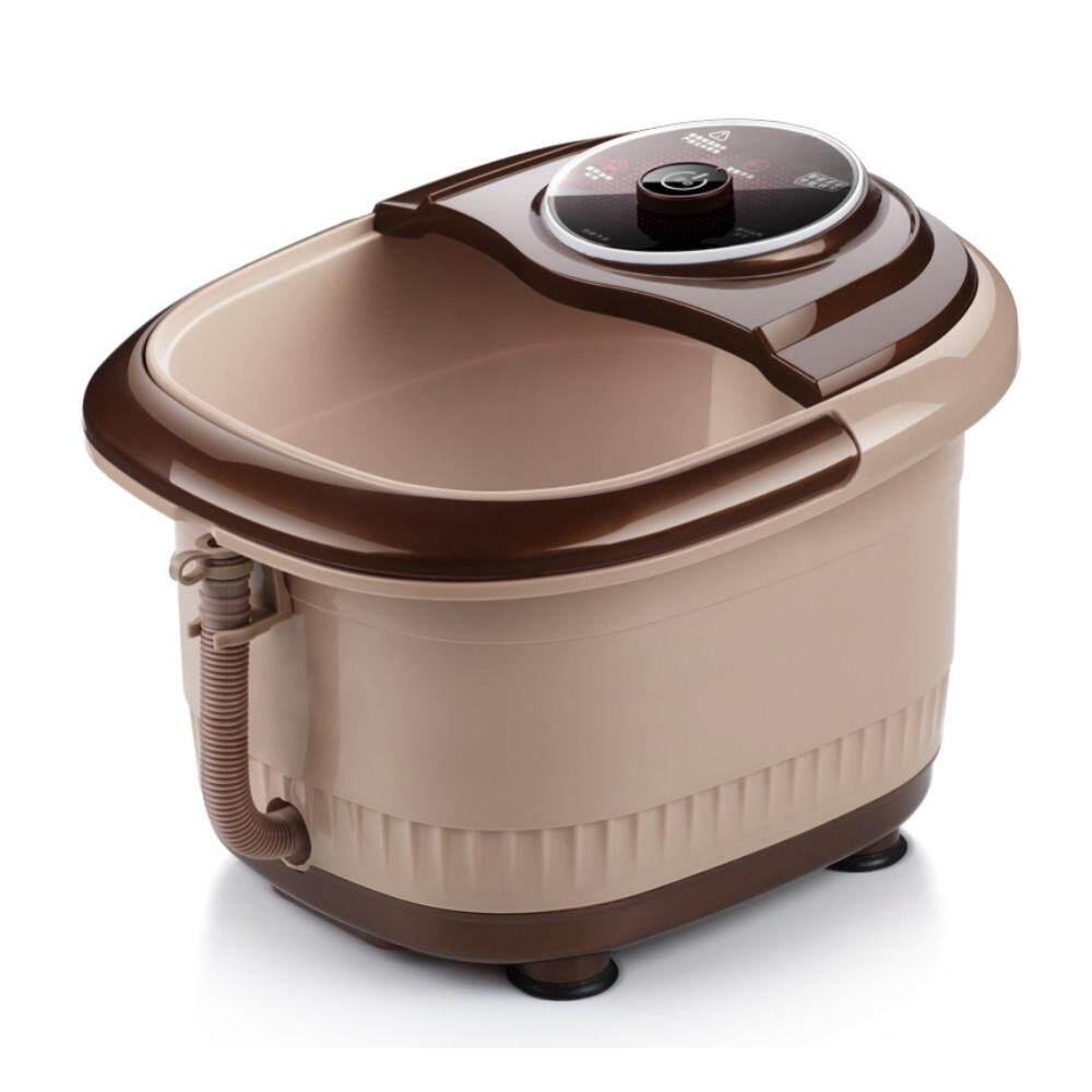 (Bubble Model)Portable Automatic Reheat Foot & Leg Massage Bath Barrel