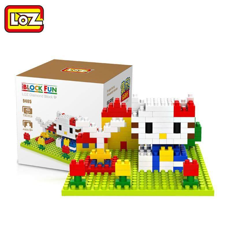 LOZ DIY Hello Kitty Nanoblock Puzzle 1