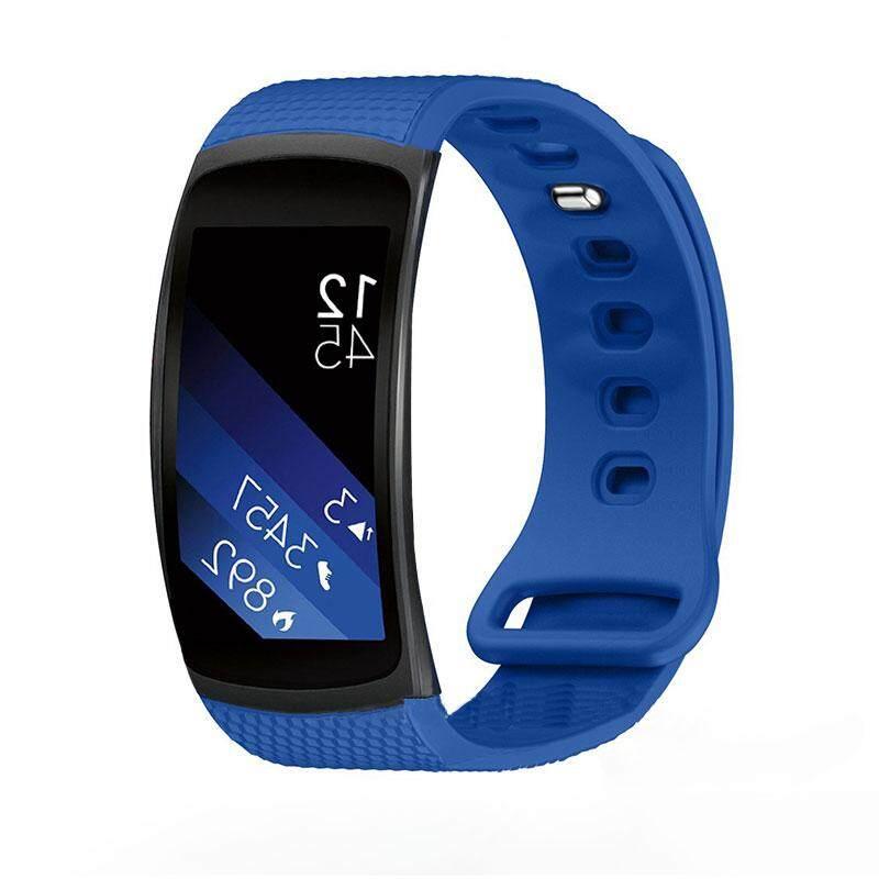 Watch Smartwatch Band Tali Gelang Silikon Alat untuk Samsung Gear Fit 2-Intl