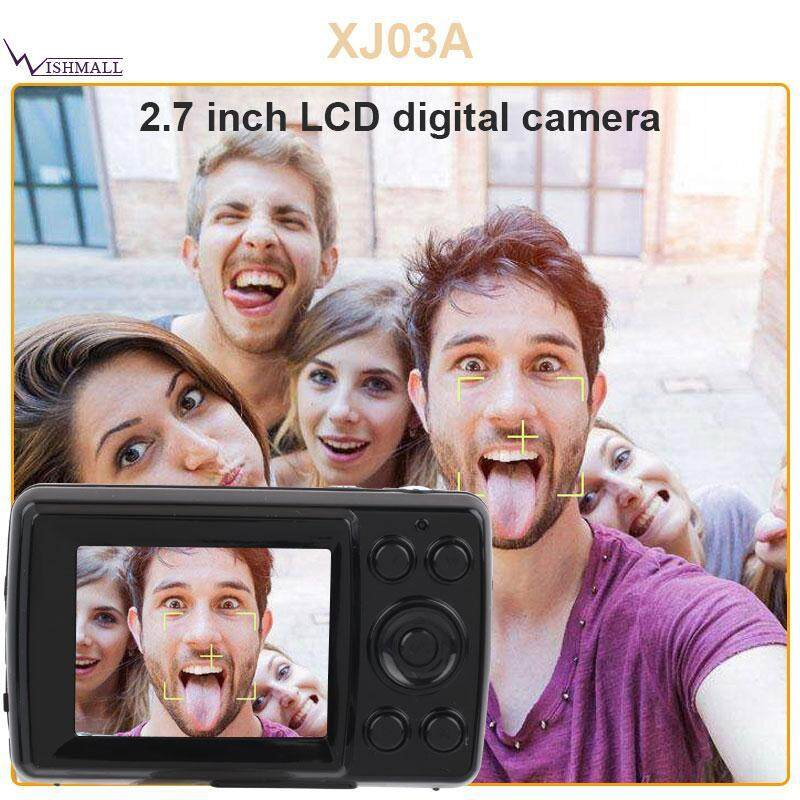 Wishmall HD Camera Digital Cameras Sports DV 16M Pixel 2.7inch Screen Stable