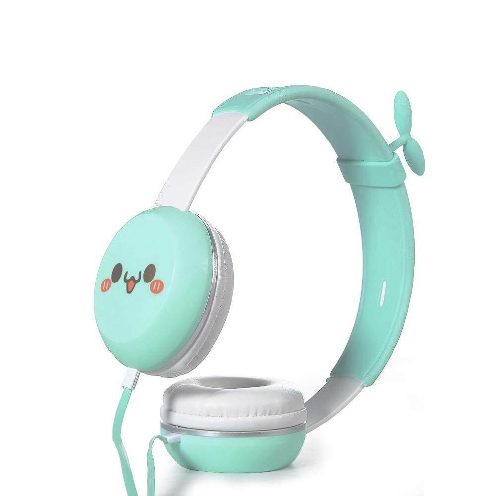 Y8 Headset HIFI Earphone S Berkabel Spoprt Earphone Kartun Lucu Headset dengan Mikropon Kebisingan Pengurangan