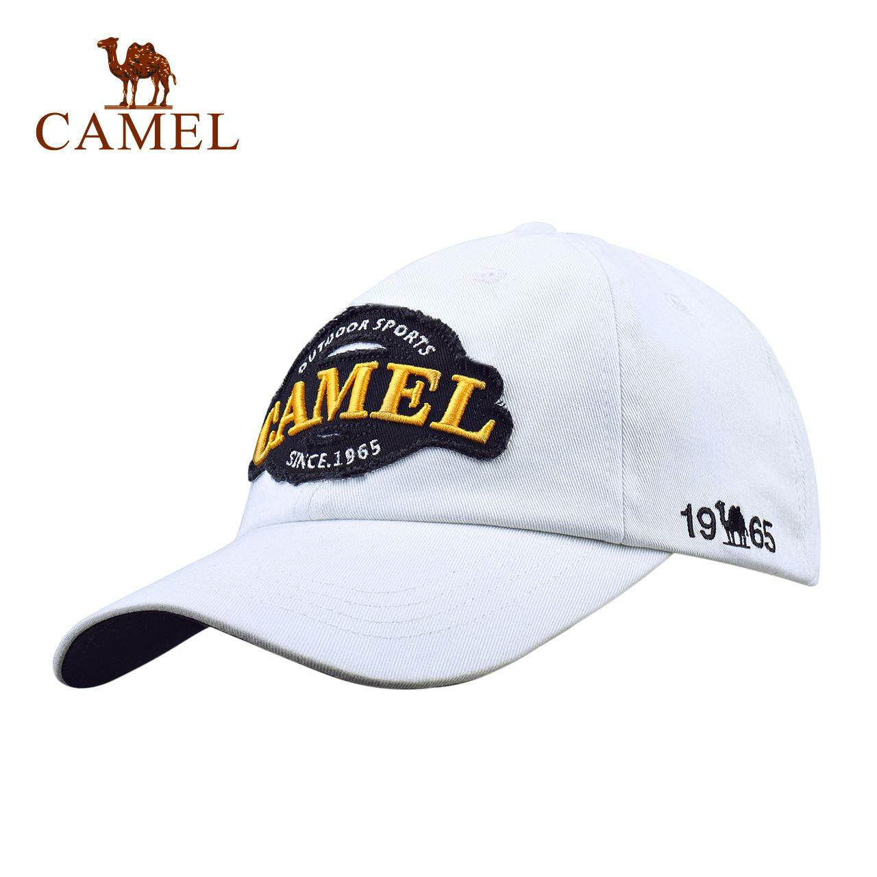 CAMEL outdoor baseball cap travel men and women breathless and wind resistant sports cap