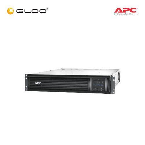 APC Smart-UPS 3000VA LCD RM 2U 230V SMT3000RMI2U- Black