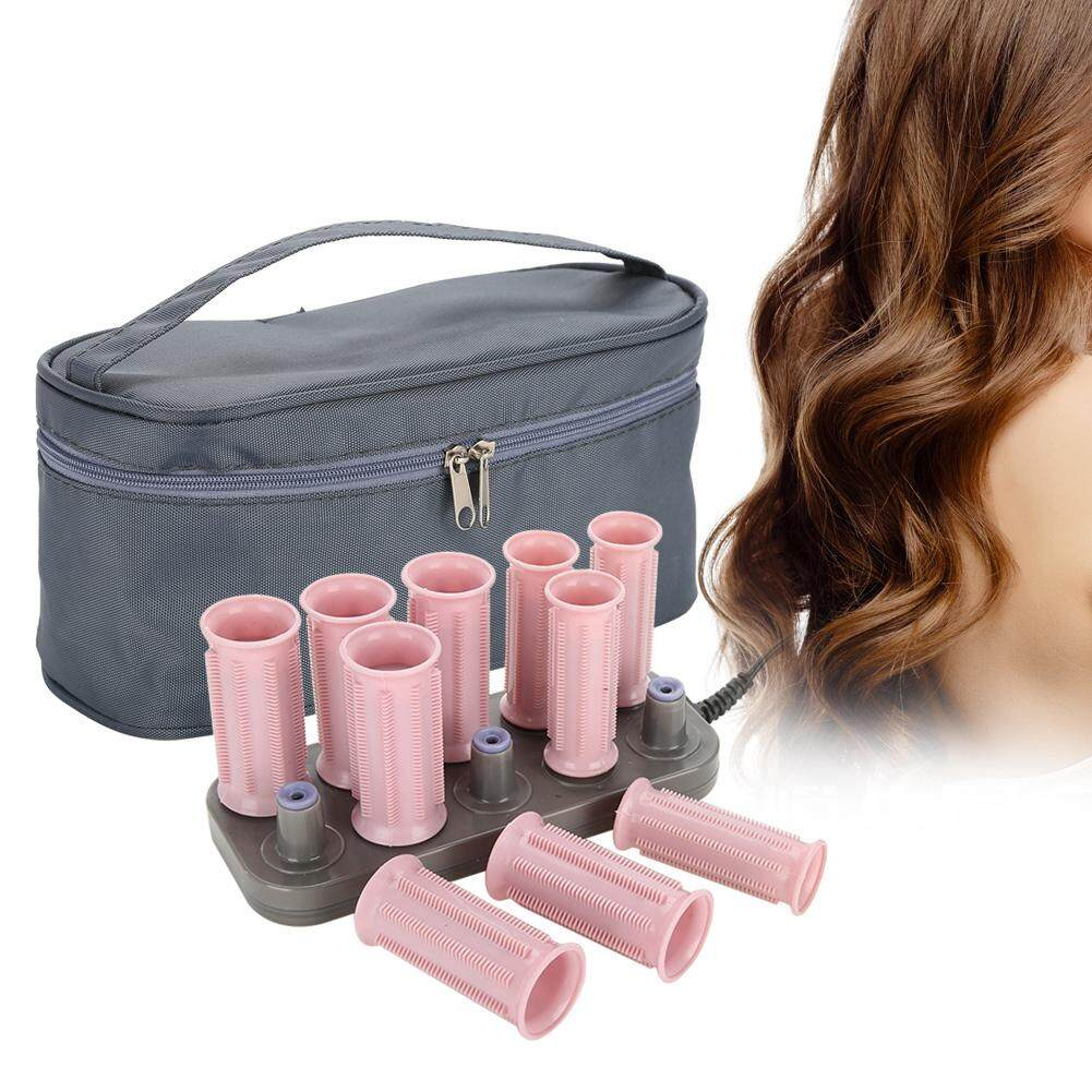10Pcs Professional Electric Heated Roller Curling Roll Hair Tube Hair Styling Classic Style