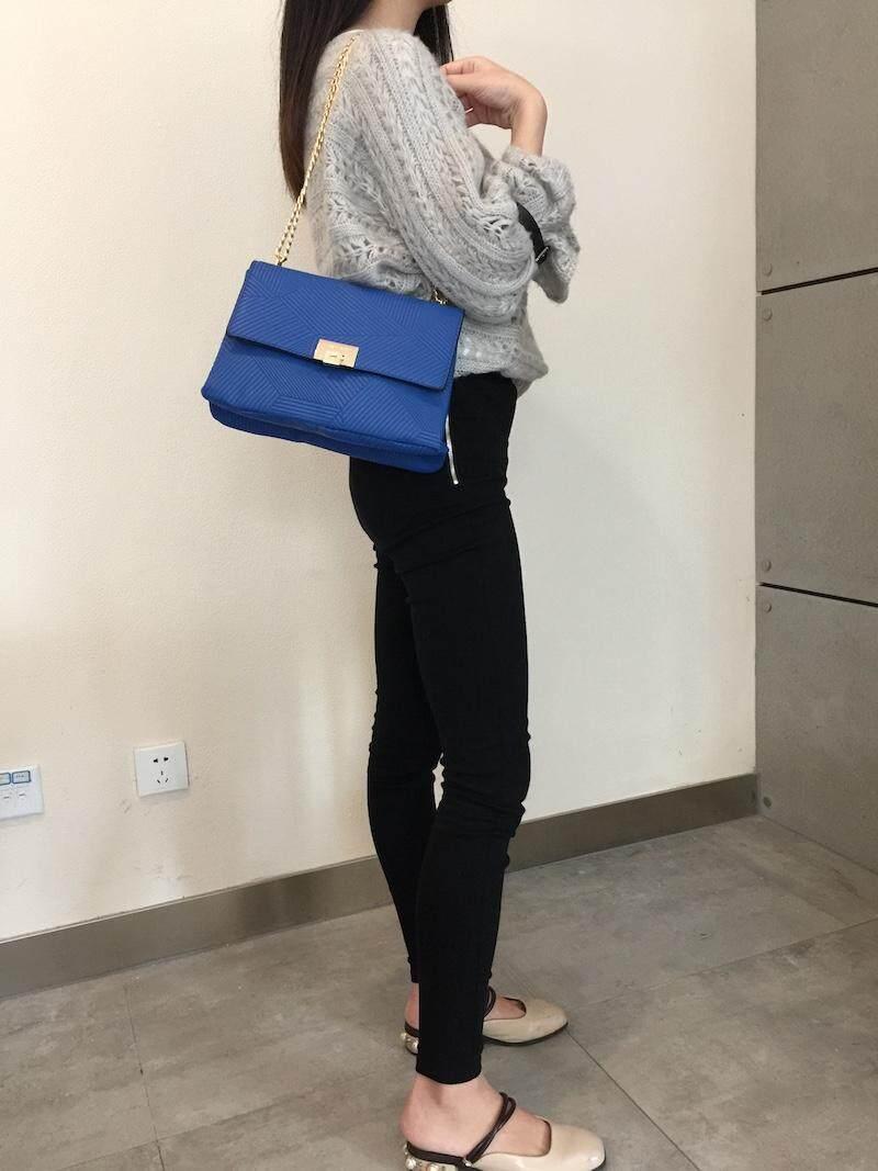 Aldo Gold Strape Crossbody Elegant Bag