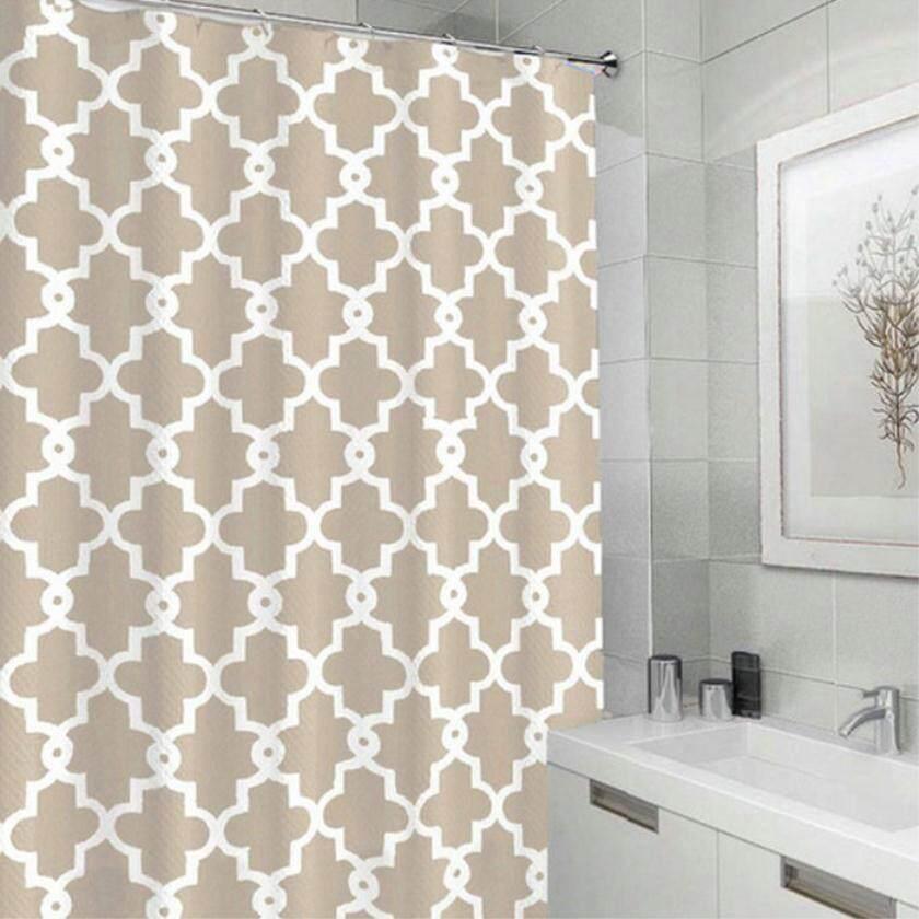 Huizhoushi Special Shower Curtain For Home Gaestgiveriet Hotel: Polyester Printing Crown Flower Pattern Waterproof Bathroom Curtain Set By Huizhoushi Chongde Xiangbaofushi Ltd.
