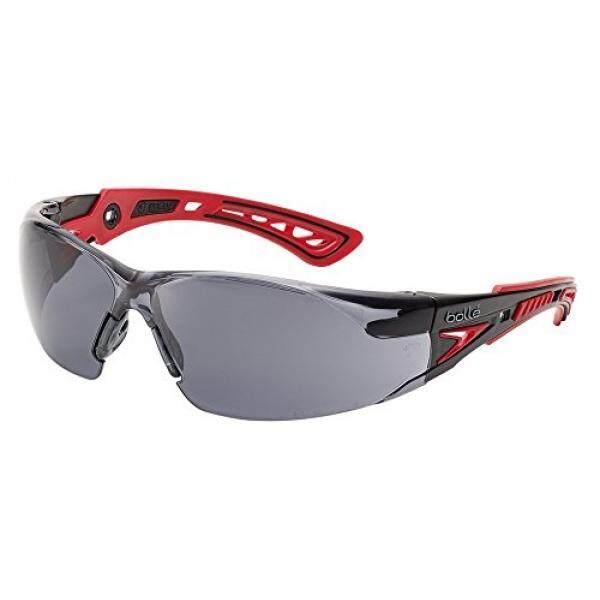 Bolle Safety Rush + Safety Kacamata Hitam & Abu-abu Bingkai Lensa Asap-Intl