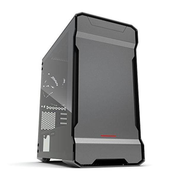 [From.USA]Phanteks PH-ES314ETG_AG EVOLV mATX Tempered Glass Edition Aluminum Exterior RGB LED Illumination Micro Tower Case Gray B06ZXZBT7C Malaysia