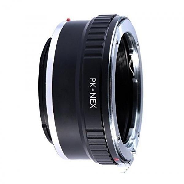 Adapter To Convert Pentax K-Mount (PK) Lens To Sony E-Mount For Alpha a7, a7S, a7IIK, a7II, a7R II, a6500, a6300, a6000, a5000, a5100, a3000 Mirrorless Digital Camera