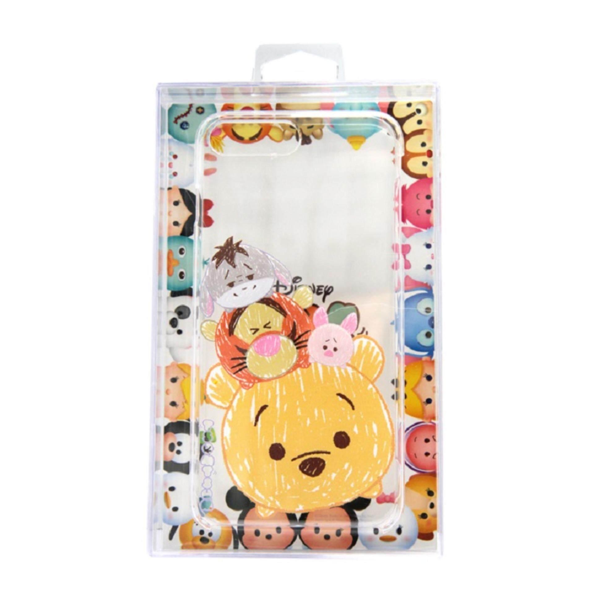 Disney Tsum Tsum Transparent iPhone 7 Plus Case - Pooh Family