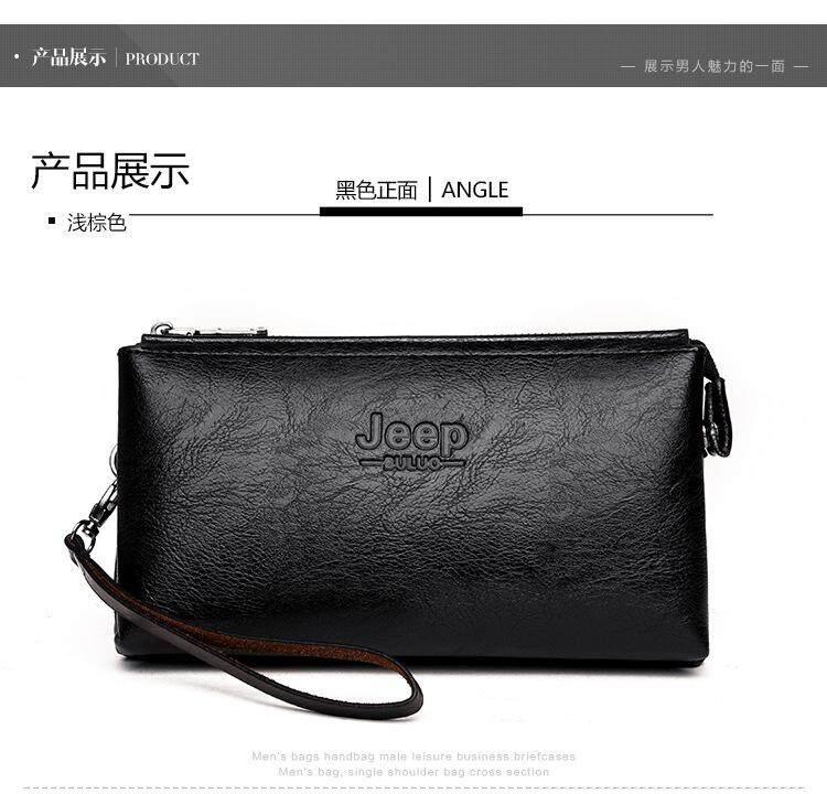 c257932879 JEEP BULUO Men Wallets New Casual Wallet Men Purse Clutch Bag Microfiber  Leather Wallet Long Design Handbag For Man