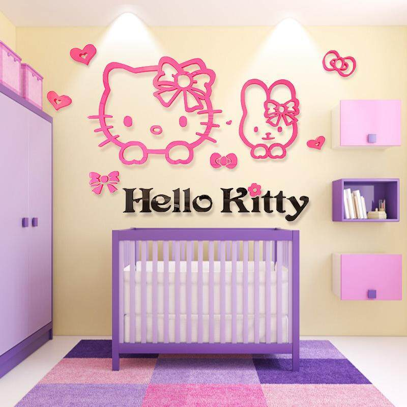 3D Hello Kitty Wall Decoration(120 x 83cm)