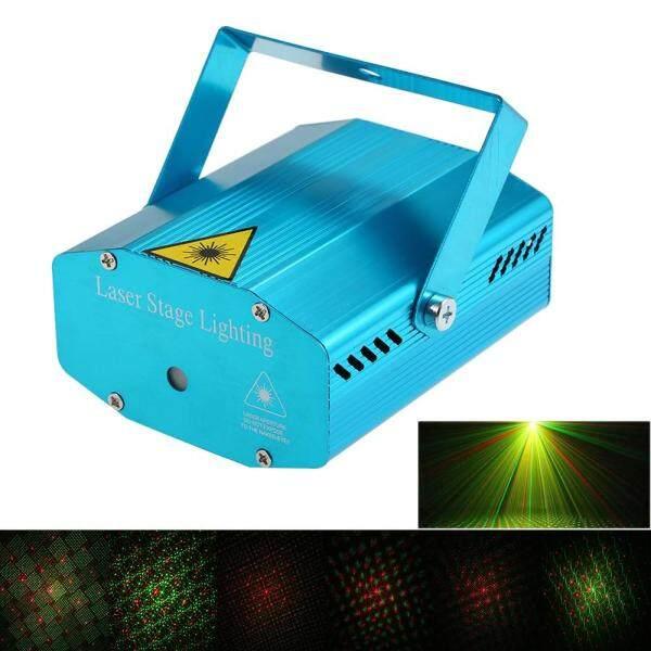 Máy Chiếu Laser LED Mini, Đèn Vũ Trường Laser Trang Trí Giáng Sinh Đèn Laser Đèn Câu Lạc Bộ Tiệc Tùng Dj Disco Xmas Kích Hoạt Bằng Giọng Nói