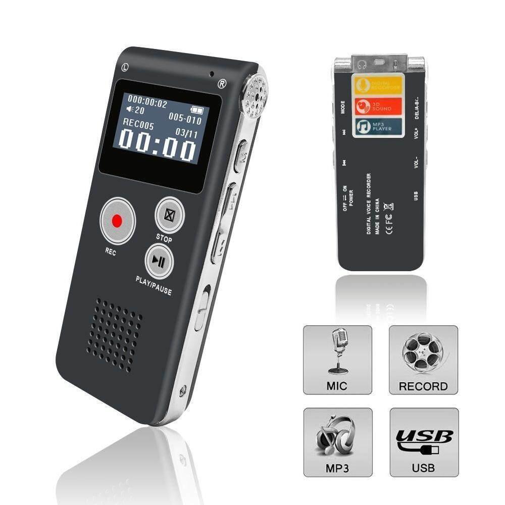Qooiu SK-02 Spy Audio Perekam Suara Pena Perekam 8 GB Mini Flashdisk Digital Desain Penampilan Yang Modis Perekam Suara-Intl