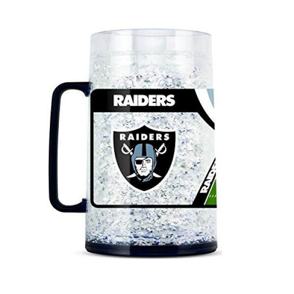 Duck House NFL Oakland Raiders 38oz Crystal Freezer Monster Mug - intl