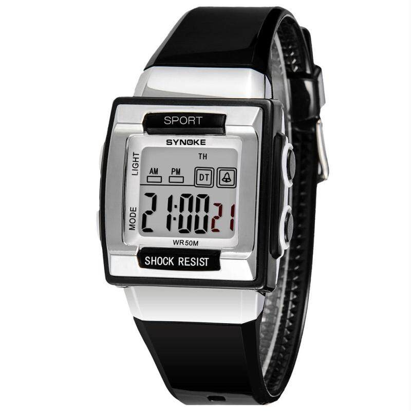 SYNOKE Kids Digital Luminous Watches Shockproof Waterproof Alarm Clock Wristwatch bán chạy