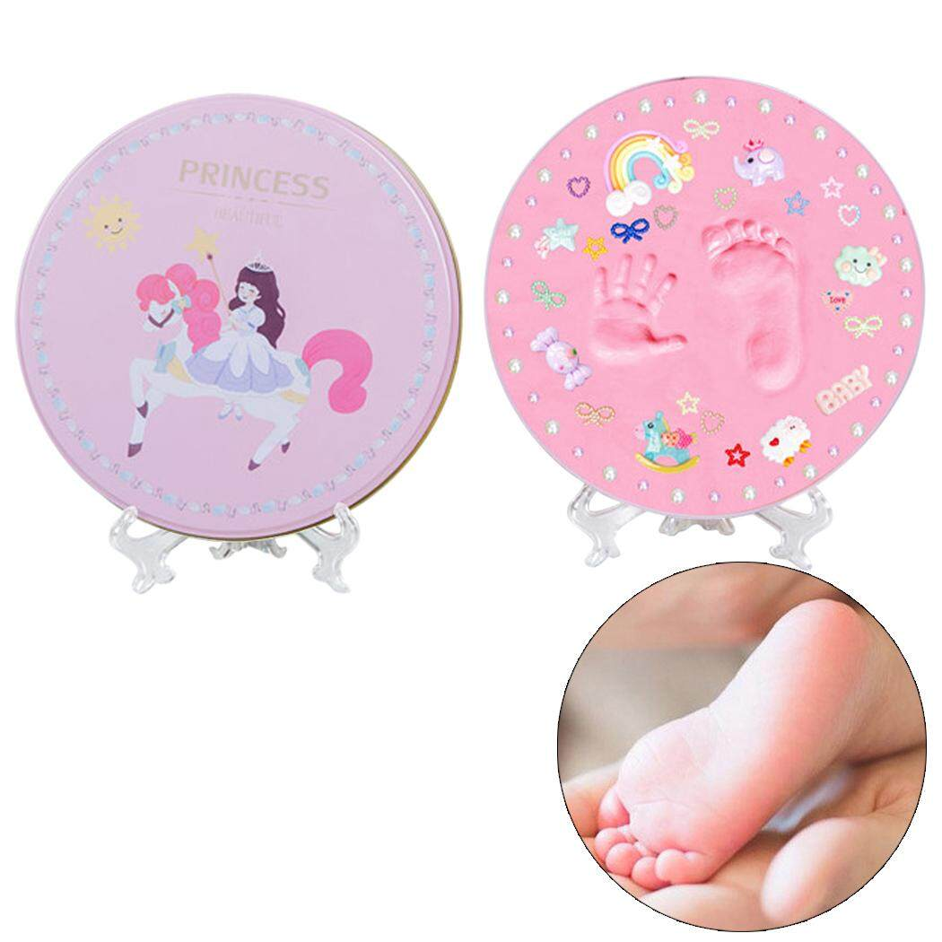 Baby Hand & Footprint Kit Diy Memorable Baby Footprint Maker Baby Keepsake Kit With Decorations By Jiangxing.