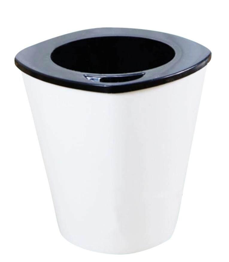 Self watering Pot (S Size) Hydroponic Pot Pasu Hidroponik Menyiram Sendiri (White Square Small Size Flower Pot) - HT11