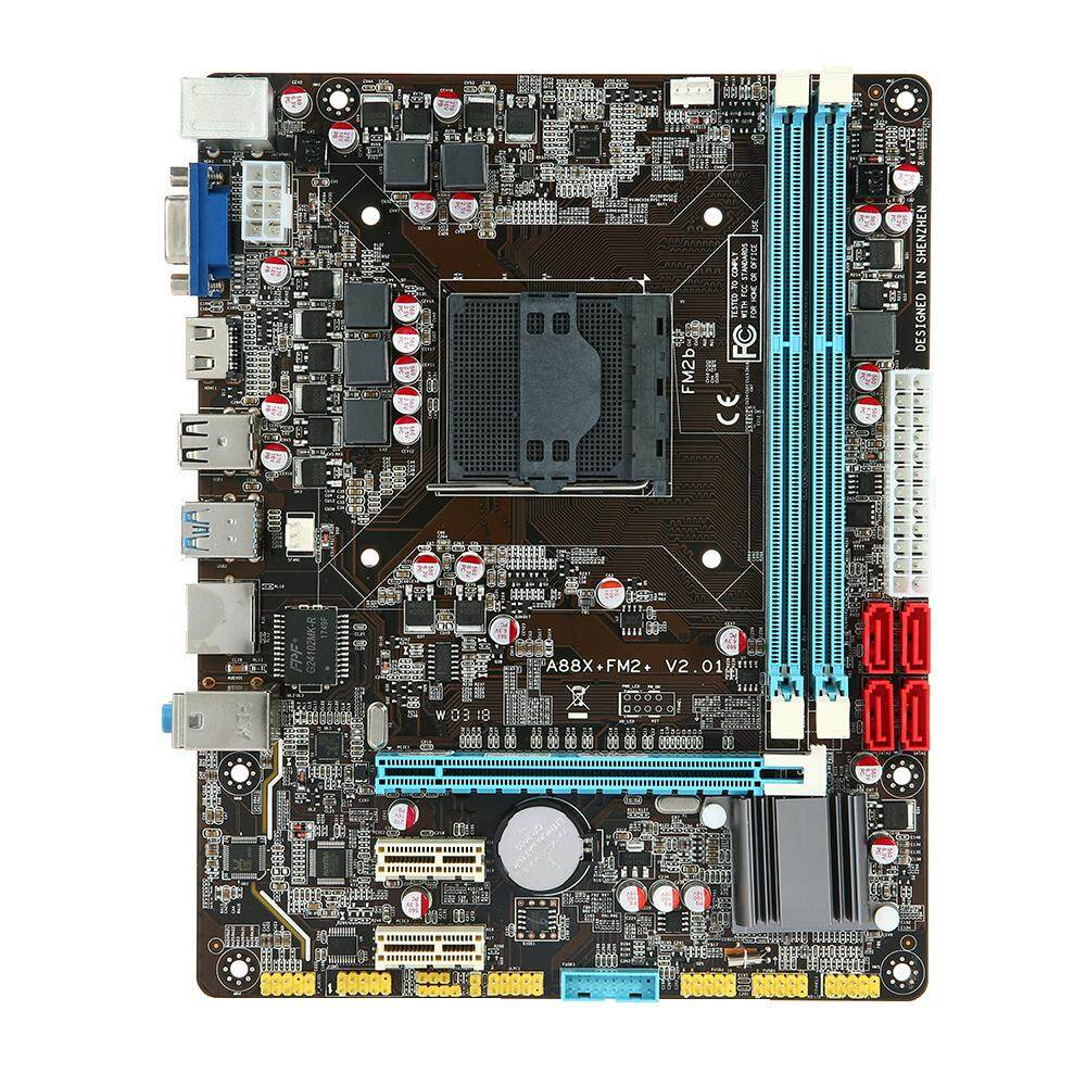 Runing A88 Motherboard MATX Motherboard AMD/FM2/FM2+ Processor SATA 3.0 and USB 3.0 Ports 2 DIMM Slots DDR3 Memory HD Interface and VGA Interface Up to 16GB Memory Capacity