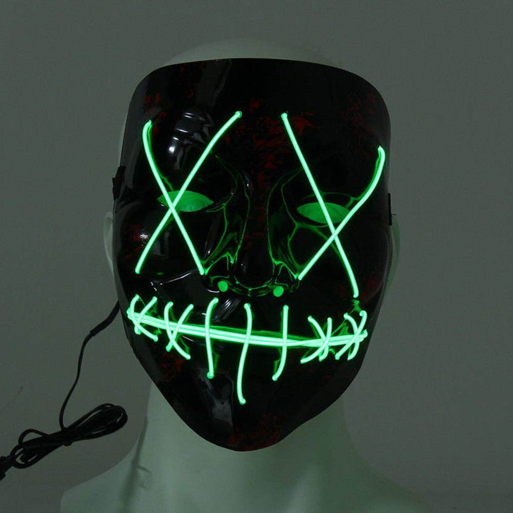 funny lamps for sale desk lamps halloween mask wire flash party scary ghost funny cosplay horror shine led lighting for sale lamps prices brands review in