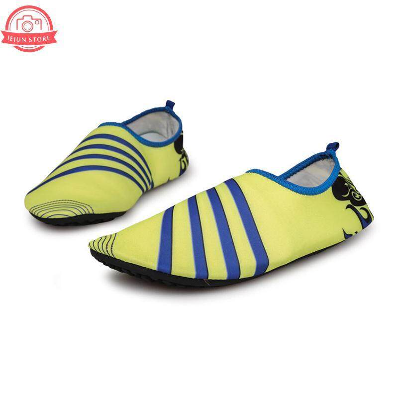 Men Women Comfort Skin Shoes Swimming Yoga Sport Pointed Toe Slip-On Flat Tpr By Lejun Store.