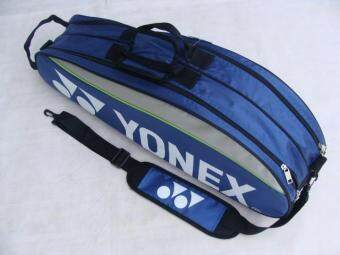 Shock Price Yonex 9332 Badminton Bag Double Zips Bag with Shoes Compartment + 2 Main Packets 2 Main Packets 2 Sides Pockets + 1 Sling Straps การส่งเสริม ...