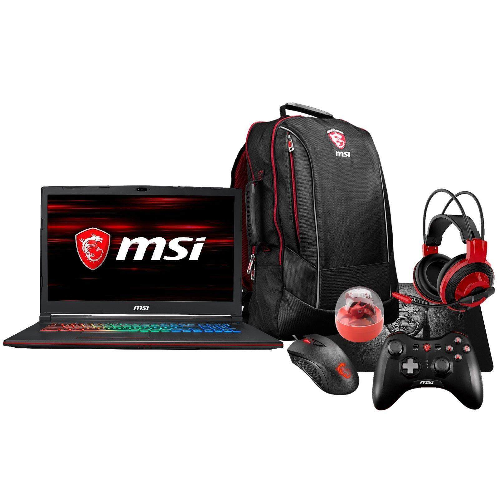 MSI GP73 Leopard 17.3 120Hz (3ms) Core i7-8750H GTX 1060 1050Ti Gaming Laptop Malaysia