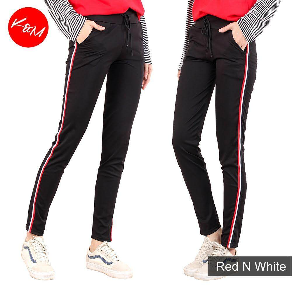 KM Women Sport Casual Elastic Pants [M13543]