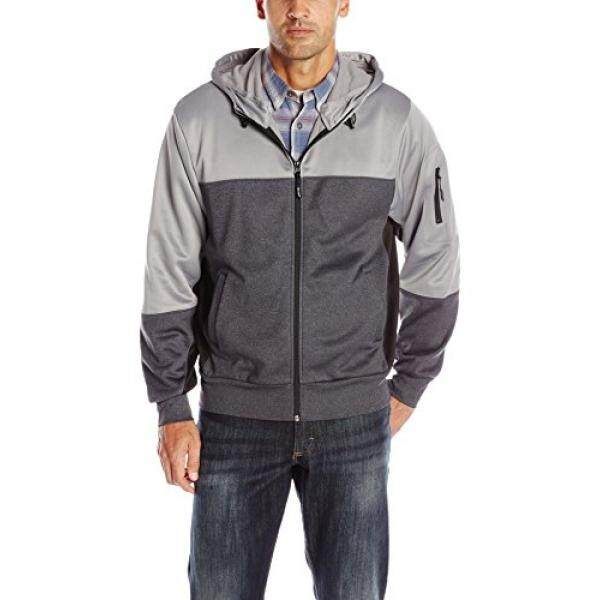 Wrangler Mens Foothills Jacket, Charcoal,