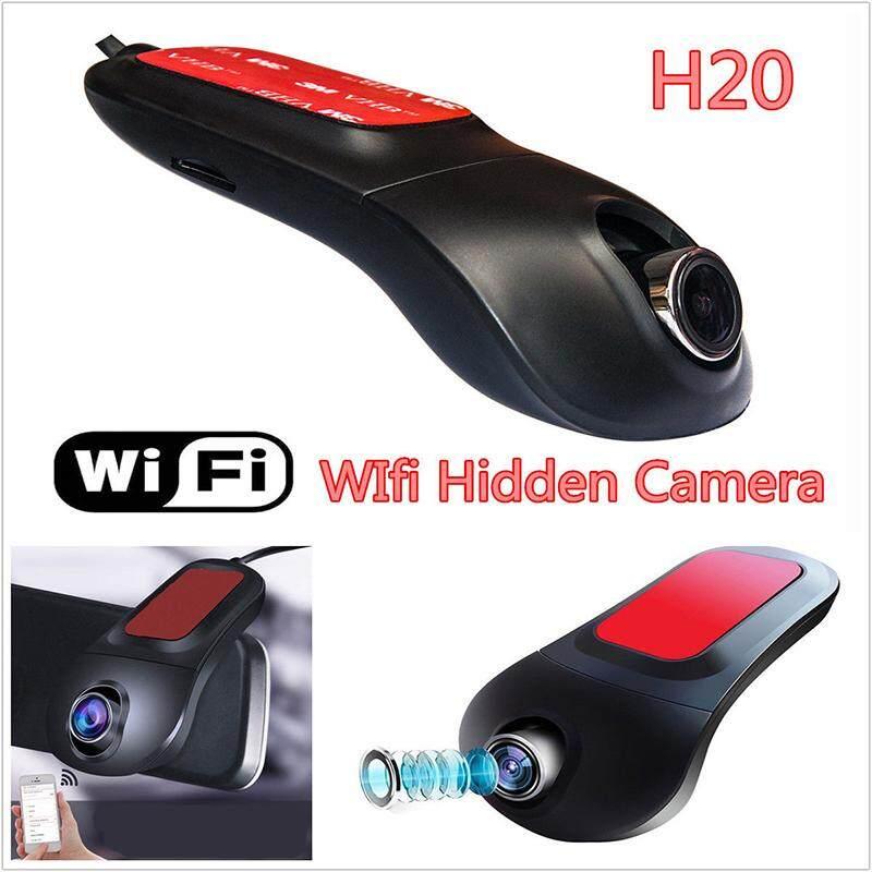 Gracekarin Online 1080P Full HD Hidden WiFi Car DVR Vehicle Camera Video Recorder Dash Cam