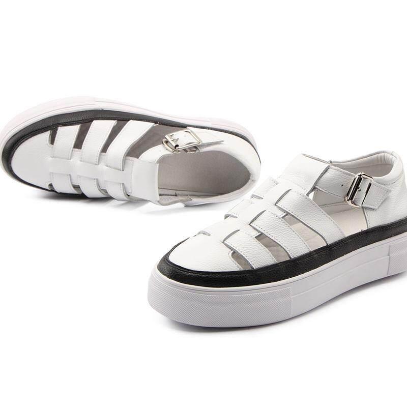 43a9cc374d05 2018 New shoes Summer sandals women peep-toe sandalias flat Shoes Roman  sandals shoes woman