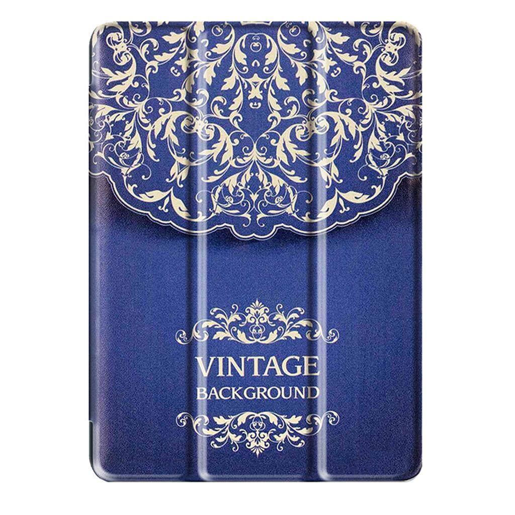 Magideal Kulit Case untuk iPad 9.7 Inci 2017 + Sentuh Pulpen + Layar Pelindung Biru-Internasional