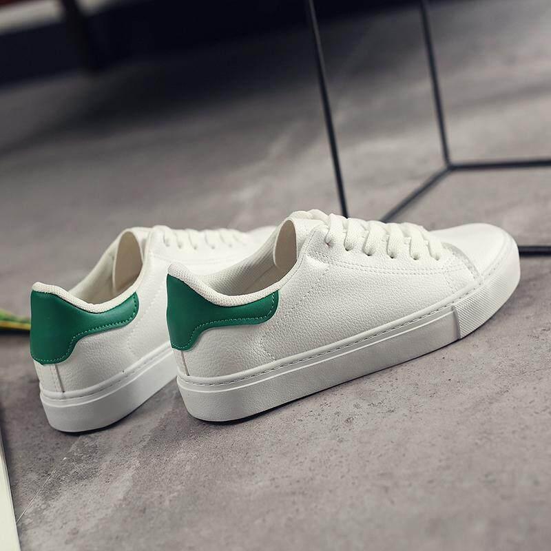 Sepatu Flat Pria Warna Hitam Bertali Pergelangan Rendah Datar Trendi Versi Korea Atmosfer . Source · Sepatu Putih Wanita Sol Datar Ekor Hijau Bertali Versi ...