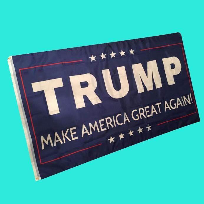 Fanestiy Bendera 3 Oleh 5 Kaki Bendera Trump